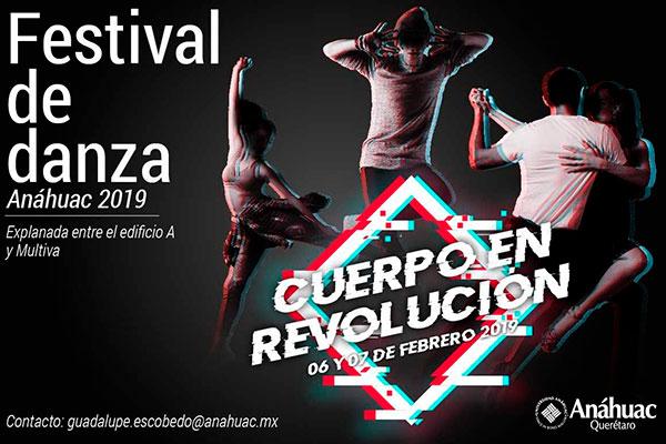 7 DE FEBRERO. PRESENTACIÓN EN EL FESTIVAL DE DANZA  ANÁHUAC 2019