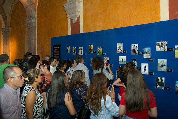 INAUGURACIÓN DE LA EXPOSICIÓN UNA MIRADA LIBRE EL 17 DE MAYO EN EL MUSEO REGIONAL DE QUERÉTARO.